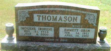 BOREN THOMASON, IMOGENE - Boone County, Arkansas | IMOGENE BOREN THOMASON - Arkansas Gravestone Photos