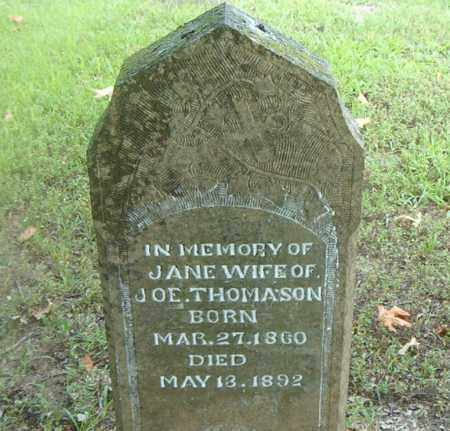THOMASON, JANE - Boone County, Arkansas | JANE THOMASON - Arkansas Gravestone Photos