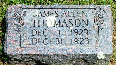 THOMASON, JAMES  ALLEN - Boone County, Arkansas | JAMES  ALLEN THOMASON - Arkansas Gravestone Photos