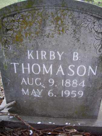 THOMASON, KIRBY B. - Boone County, Arkansas | KIRBY B. THOMASON - Arkansas Gravestone Photos