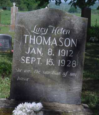 THOMASON, LUCY HELEN - Boone County, Arkansas | LUCY HELEN THOMASON - Arkansas Gravestone Photos