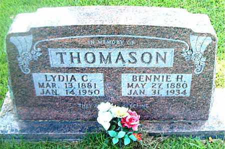 THOMASON, BENNIE  H. - Boone County, Arkansas | BENNIE  H. THOMASON - Arkansas Gravestone Photos