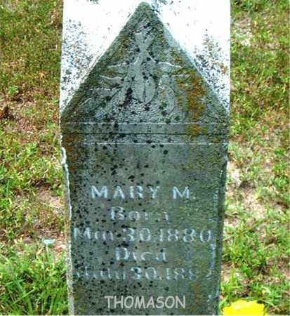 THOMASON, MARY  M. - Boone County, Arkansas | MARY  M. THOMASON - Arkansas Gravestone Photos