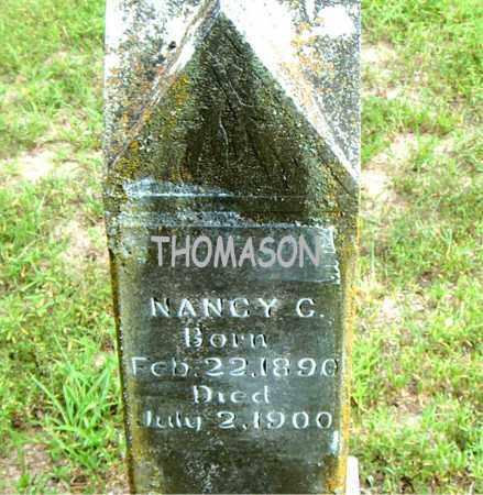 THOMASON, NANCY  C. - Boone County, Arkansas | NANCY  C. THOMASON - Arkansas Gravestone Photos