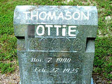 THOMASON, OTTIE - Boone County, Arkansas | OTTIE THOMASON - Arkansas Gravestone Photos