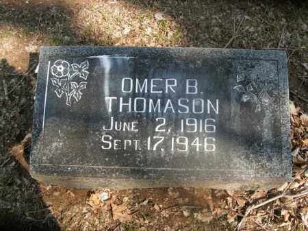 THOMASON, OMER B. - Boone County, Arkansas | OMER B. THOMASON - Arkansas Gravestone Photos