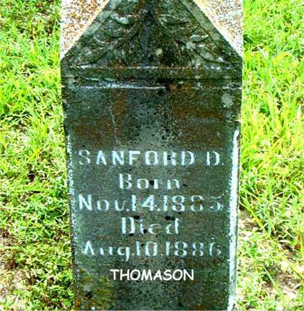 THOMASON, SANFORD  D. - Boone County, Arkansas | SANFORD  D. THOMASON - Arkansas Gravestone Photos
