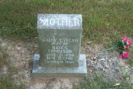 THOMASON, SHABY EVELYN - Boone County, Arkansas | SHABY EVELYN THOMASON - Arkansas Gravestone Photos