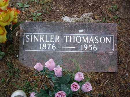 "THOMASON, SINCLAIR ASBURY ""SINKLER"" - Boone County, Arkansas 