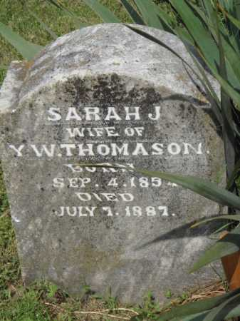 THOMASON, SARAH J. - Boone County, Arkansas | SARAH J. THOMASON - Arkansas Gravestone Photos