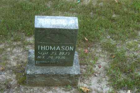 THOMASON, TRESSIE PEARL - Boone County, Arkansas | TRESSIE PEARL THOMASON - Arkansas Gravestone Photos