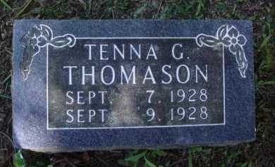 THOMASON, TENNA G. - Boone County, Arkansas | TENNA G. THOMASON - Arkansas Gravestone Photos