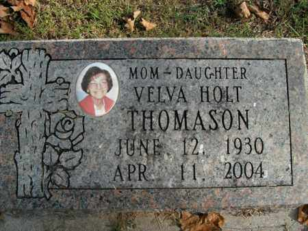 THOMASON, VELVA - Boone County, Arkansas | VELVA THOMASON - Arkansas Gravestone Photos