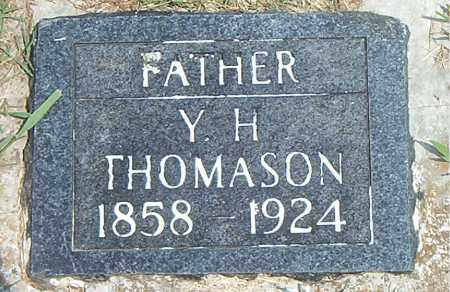 THOMASON, YOUNG HARMON - Boone County, Arkansas | YOUNG HARMON THOMASON - Arkansas Gravestone Photos