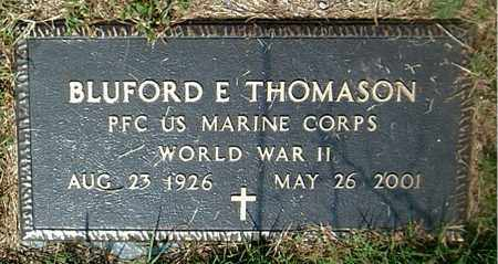 THOMPSON  (VETERAN WWII), BLUFORD E - Boone County, Arkansas | BLUFORD E THOMPSON  (VETERAN WWII) - Arkansas Gravestone Photos