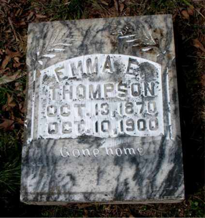 THOMPSON, EMMA E. - Boone County, Arkansas | EMMA E. THOMPSON - Arkansas Gravestone Photos