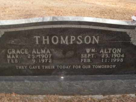 THOMPSON, GRACE ALMA - Boone County, Arkansas | GRACE ALMA THOMPSON - Arkansas Gravestone Photos