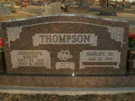 THOMPSON, SR, HARLEY - Boone County, Arkansas | HARLEY THOMPSON, SR - Arkansas Gravestone Photos
