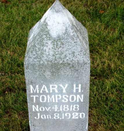 TOMPSON, MARY  H. - Boone County, Arkansas | MARY  H. TOMPSON - Arkansas Gravestone Photos