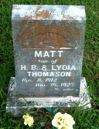 THOMPSON, MATT - Boone County, Arkansas | MATT THOMPSON - Arkansas Gravestone Photos