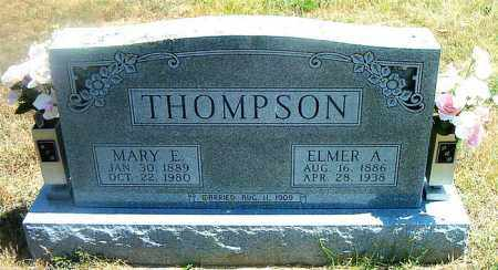 THOMPSON, ELMER A. - Boone County, Arkansas | ELMER A. THOMPSON - Arkansas Gravestone Photos