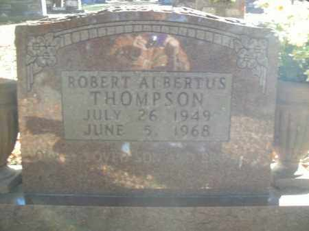 THOMPSON, ROBERT ALBERTUS - Boone County, Arkansas | ROBERT ALBERTUS THOMPSON - Arkansas Gravestone Photos