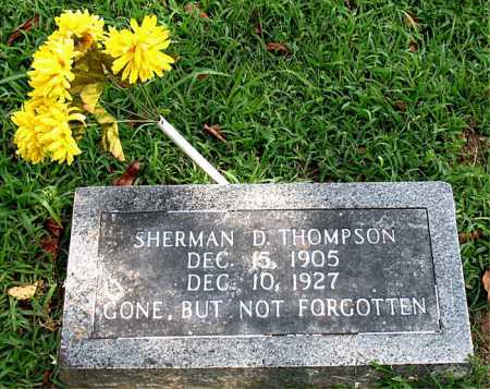 THOMPSON, SHERMAN   D - Boone County, Arkansas | SHERMAN   D THOMPSON - Arkansas Gravestone Photos