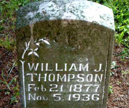 THOMPSON, WILLIAM J. - Boone County, Arkansas | WILLIAM J. THOMPSON - Arkansas Gravestone Photos