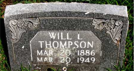 THOMPSON, WILL   L - Boone County, Arkansas | WILL   L THOMPSON - Arkansas Gravestone Photos