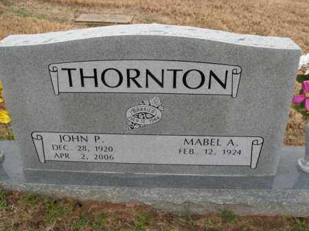 THORNTON, JOHN P. - Boone County, Arkansas | JOHN P. THORNTON - Arkansas Gravestone Photos