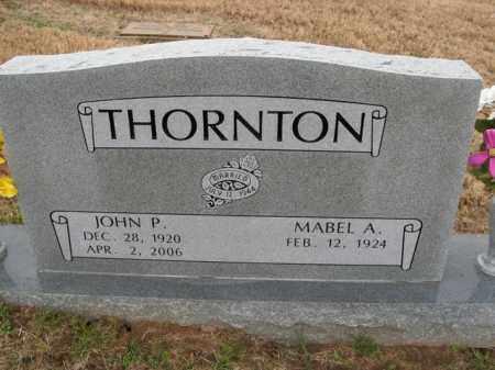 THORNTON, JOHN P. - Boone County, Arkansas | JOHN P. THORNTON - Arkansas Gravestone Photos