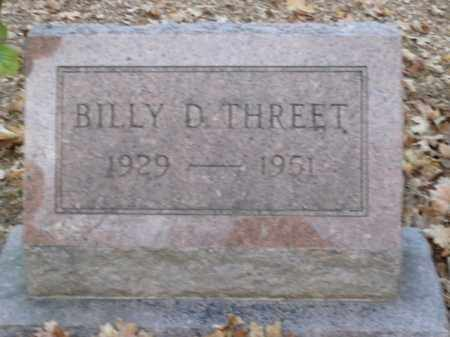 THREET, BILLY D. - Boone County, Arkansas | BILLY D. THREET - Arkansas Gravestone Photos
