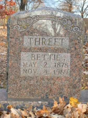 THREET, BETTIE - Boone County, Arkansas | BETTIE THREET - Arkansas Gravestone Photos