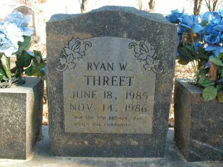 THREET, RYAN W. - Boone County, Arkansas | RYAN W. THREET - Arkansas Gravestone Photos