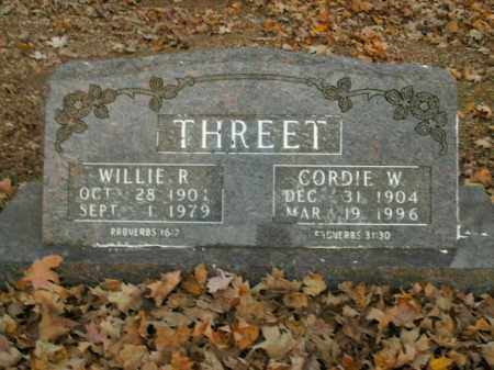 THREET, CORDIE W. - Boone County, Arkansas | CORDIE W. THREET - Arkansas Gravestone Photos