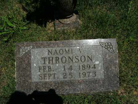 THRONSON, NAOMI V. - Boone County, Arkansas | NAOMI V. THRONSON - Arkansas Gravestone Photos