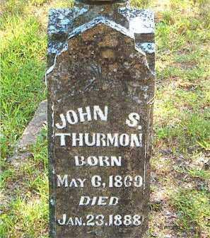 THURMON, JOHN  S. - Boone County, Arkansas | JOHN  S. THURMON - Arkansas Gravestone Photos