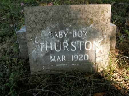 THURSTON, BABY BOY - Boone County, Arkansas | BABY BOY THURSTON - Arkansas Gravestone Photos