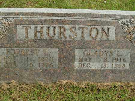 THURSTON, FORREST L. - Boone County, Arkansas | FORREST L. THURSTON - Arkansas Gravestone Photos