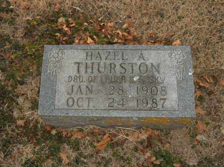 THURSTON, HAZEL A. - Boone County, Arkansas | HAZEL A. THURSTON - Arkansas Gravestone Photos
