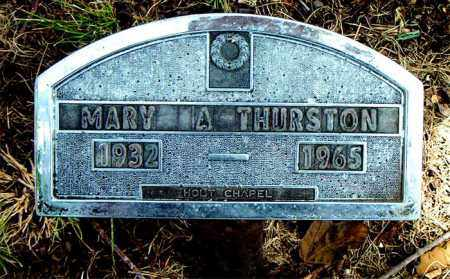 THURSTON, MARY  A. - Boone County, Arkansas | MARY  A. THURSTON - Arkansas Gravestone Photos