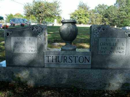 THURSTON, ORVILLE V. - Boone County, Arkansas | ORVILLE V. THURSTON - Arkansas Gravestone Photos
