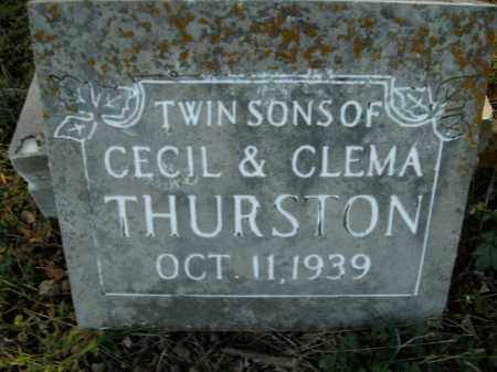 THURSTON, TWIN SONS - Boone County, Arkansas | TWIN SONS THURSTON - Arkansas Gravestone Photos