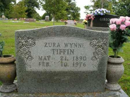 TIFFIN, ZURA - Boone County, Arkansas | ZURA TIFFIN - Arkansas Gravestone Photos