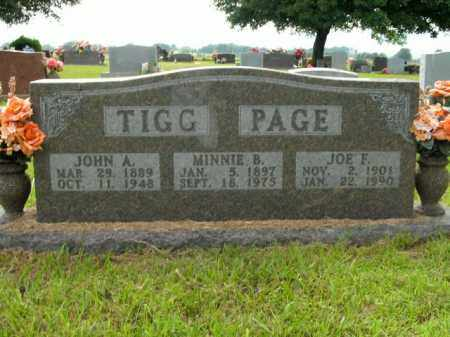 PAGE, JOE F. - Boone County, Arkansas | JOE F. PAGE - Arkansas Gravestone Photos