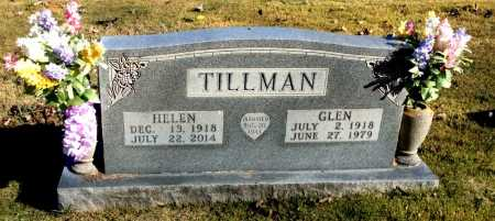 TILLMAN, GLEN - Boone County, Arkansas | GLEN TILLMAN - Arkansas Gravestone Photos