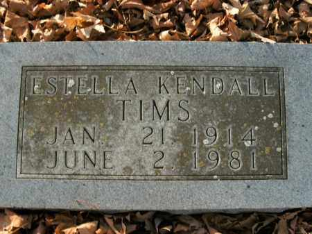 TIMS, ESTELLA - Boone County, Arkansas | ESTELLA TIMS - Arkansas Gravestone Photos
