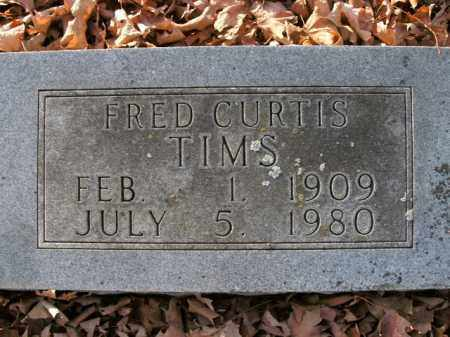 TIMS, FRED CURTIS - Boone County, Arkansas | FRED CURTIS TIMS - Arkansas Gravestone Photos