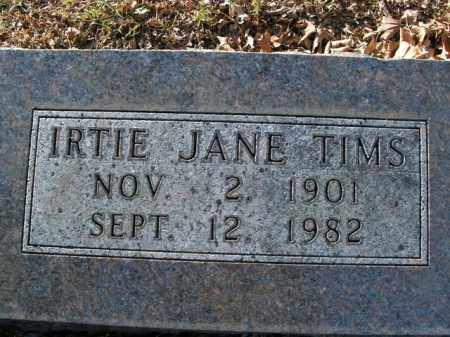 TIMS, IRTIE JANE - Boone County, Arkansas | IRTIE JANE TIMS - Arkansas Gravestone Photos