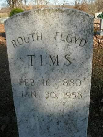 "TIMS, MARTHA JANE ""ROUTH"" - Boone County, Arkansas | MARTHA JANE ""ROUTH"" TIMS - Arkansas Gravestone Photos"